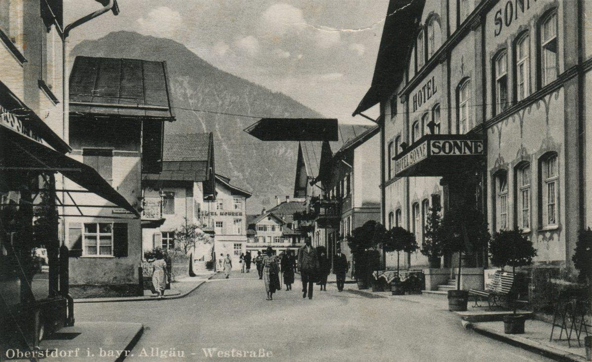 Hotel Sonne und die Weststraße