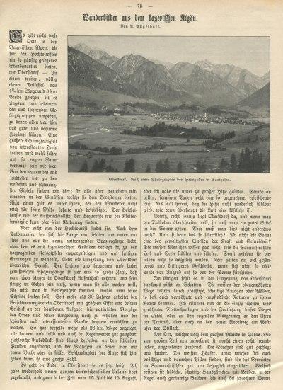 Das Bayernland 1906 Seite 75