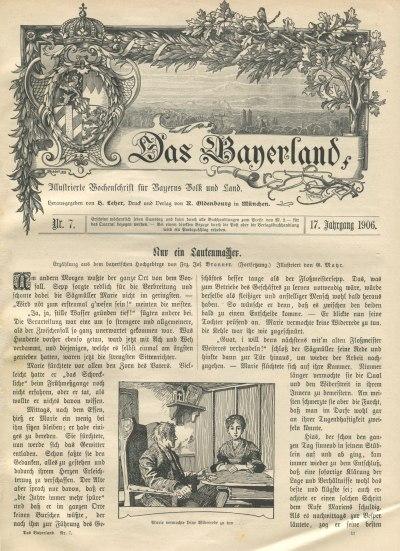 Das Bayernland 1906 Seite 73