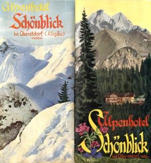 Prospekt Schönblick Umschlag