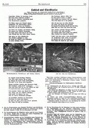 Christlesse im Reichsbund von 1932