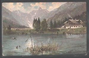 Christlessee auf einer Postkarte von 1917