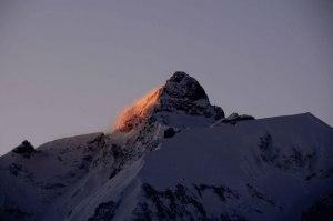Trettachspitze in der Morgensonne