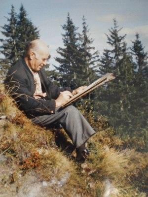 Künstler Wilhelm Berktold