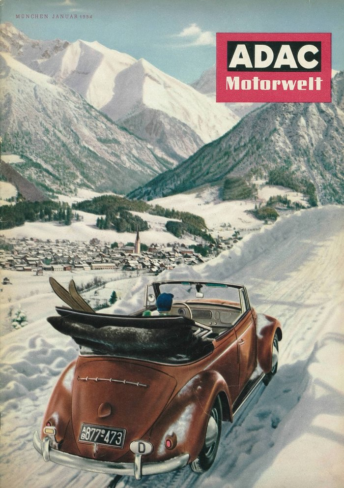 Oberstdorf Titelbild ADAC Motorvelt 1954