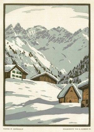 Winter in Einödsbach