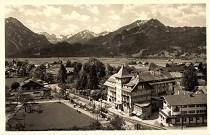 Parkhotel Luitpold auf einer Postkarte