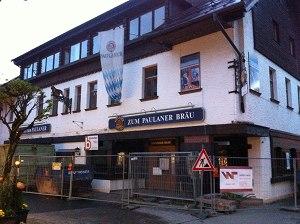 Paulaner wird wieder zu Hotel Löwen umgebaut