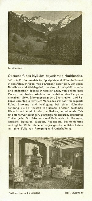 Parkhotel Luitpold 1927 Seite 3