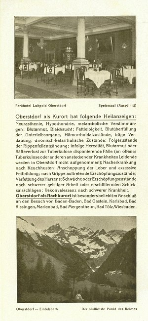 Parkhotel Luitpold 1927 Seite 4