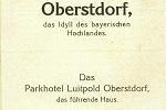 Parkhotel Luitpold 1927 Seite 1