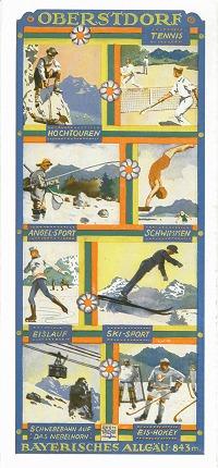 Ortsprospekt 1930 Rückumschlag