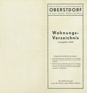 Wohnungen 1935 Seite 1