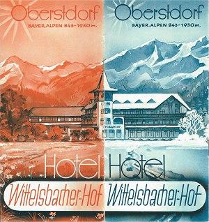 Wittelsbacher Hof 1951 Seite 1