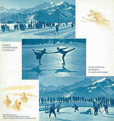 Ortsprospekt Winter 1938/39 Seite 2