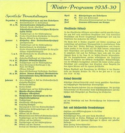 Winterprogramm 1938/39 (2)