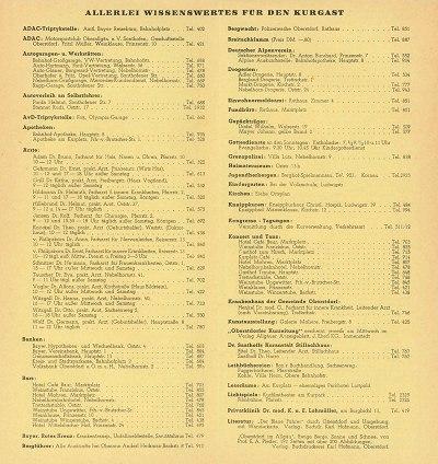 Gastgeberverzeichnis Winter 1955/56 Seite 9