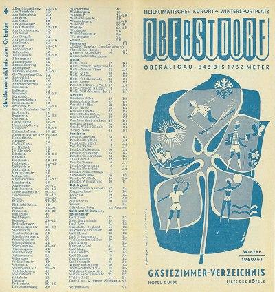 Gastgeberverzeichnis 1960/61 Seite 1