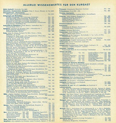 Gastgeberverzeichnis 1960/61 Seite 9