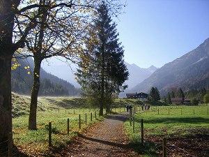 Herbst im Stillachtal