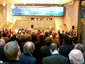 Eröffnung Oberstdorf Haus