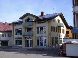 Renoviertes Voglerhaus, ehemals Kurverwaltung
