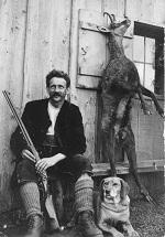 Max Speiser mit Hund Kion