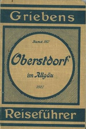 Griebens Reiseführer 1927 Umschlag