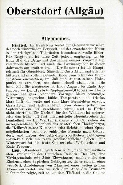 Griebens Reiseführer 1927 Seite 11