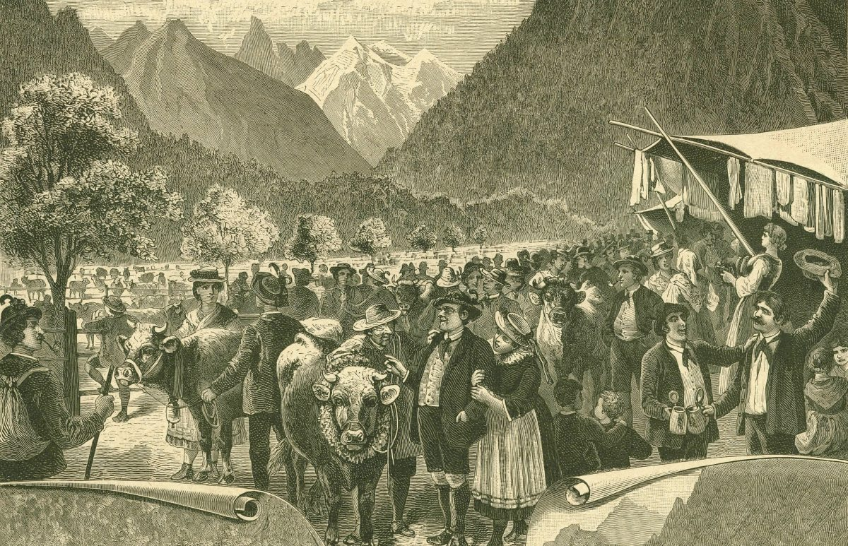Die Viehscheide (Skizze 4)