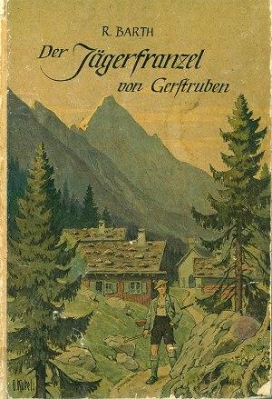 Buchumschlag: Der Jägerfranzel von Gerstruben
