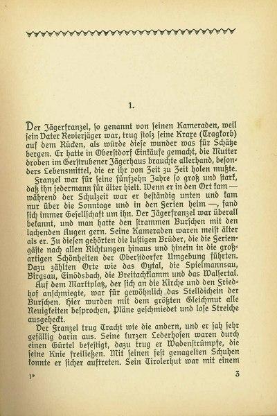 Seite 3 aus dem Buch Jägerfranzel von Gerstruben