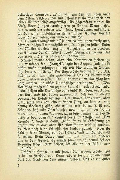 Seite 4 aus dem Buch Jägerfranzel von Gerstruben