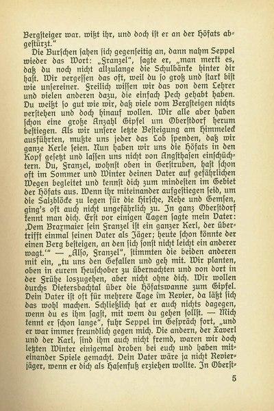 Seite 5 aus dem Buch Jägerfranzel von Gerstruben