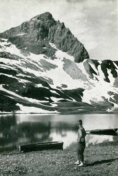 Rappensee mit Hochrappenkopf um 1938