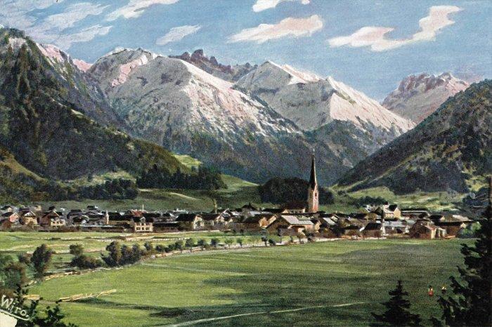 WIRO Künstlerkarte 1924