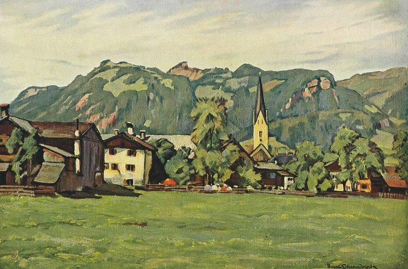 Oberstdorf von Robert Schraudolph