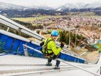 Skispringer-Feeling ICO-Skywalk-Hochseilgarten