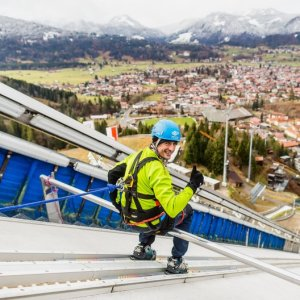Skispringer-Feeling - Aussicht