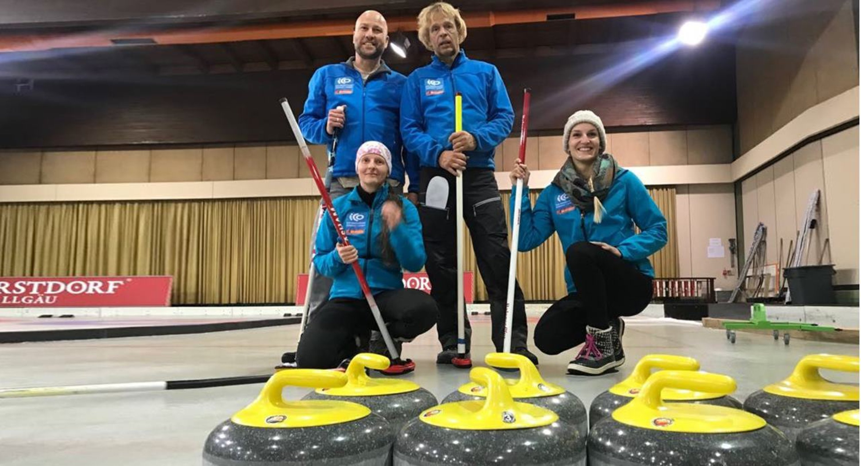 Curling in Oberstdorf ICO 1 PSC