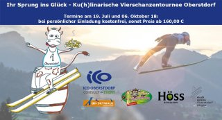 Einladung Kuhlinarische-Vierschanzentournee ICO-Oberstdorf-Skywalk Faszination-Skispringen 1