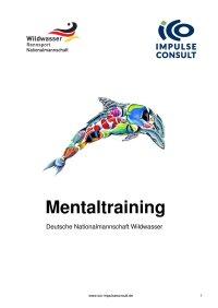 Mentaltraining - Deutsche Nationalmannschaft Wildwasser