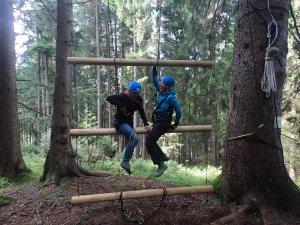 Waldseilgarten Riesen-Leiter 25Jahre Jubiläum