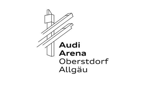 Logo Audi Arena Oberstdorf