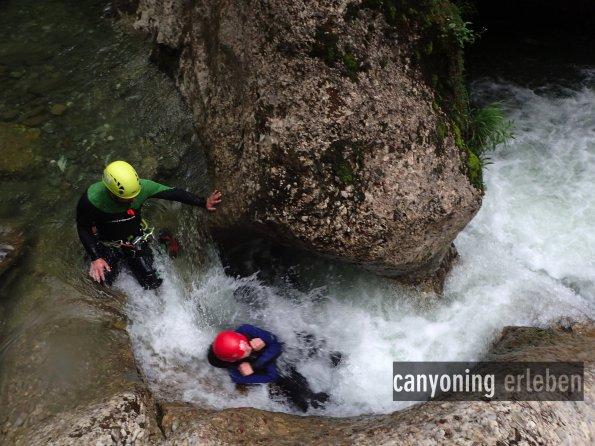 canyoning erleben