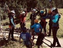 Gruppenbild Teamparcours Rettungssimulation Claudia