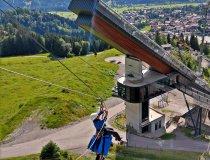 Rettungsübung im Skywalk - ICO ImpulseConsult Oberstdorf