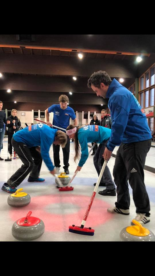 Philipp Curling PNCC Spende
