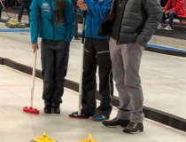 ICO Team Curling PNCC Spende Training Intern