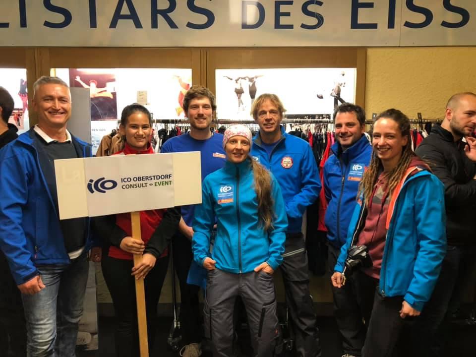 ICO ImpulseConsult team charity curling